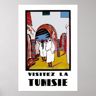 VisitezのLa Tunisie ポスター