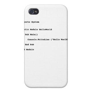 Visual Basicのこんにちは世界の挨拶 iPhone 4/4Sケース