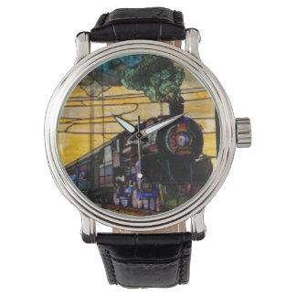 vitageの腕時計の実質の蒸気の列車エンジン 腕時計