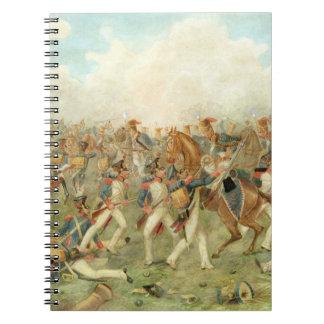 Vitoriaの戦い、1813年6月21日(w/c papeで ノートブック
