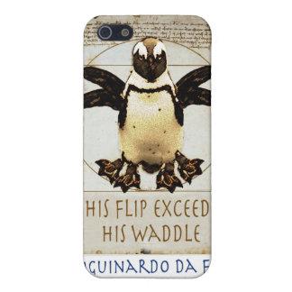 Vitruvianのペンギン iPhone 5 Case