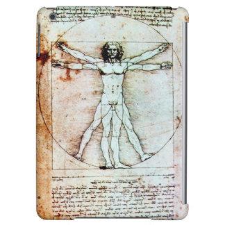VITRUVIANの人、ブラウンの羊皮紙
