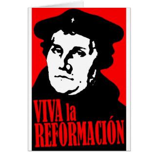 VivaのlaのReformacion LUTHER カード