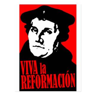 VivaのlaのReformacion LUTHER ポストカード