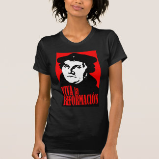 VivaのlaのReformacion LUTHER Tシャツ