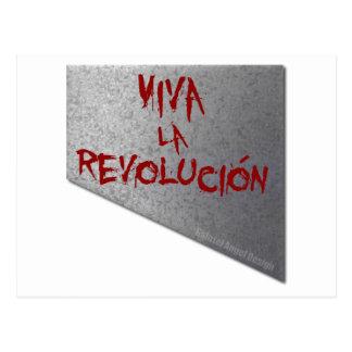 VivaのlaのRevolucionのギロチン はがき