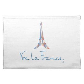 VivaのLaフランス、エッフェル+タワー ランチョンマット