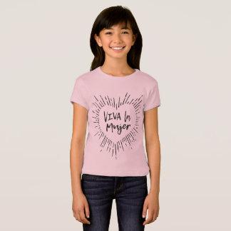 VivaのLa Mujerはティーをからかいます Tシャツ