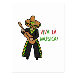 VIVAのLA MUSICA ポストカード