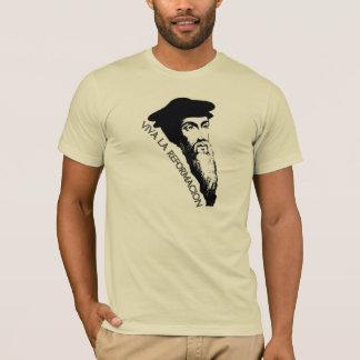 VivaのLa Reformación (ジャン・カルヴァン) Tシャツ