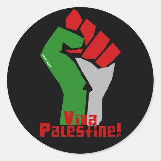 Vivaパレスチナ ラウンドシール