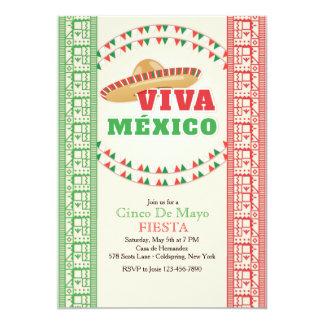 Vivaメキシコの招待状 カード