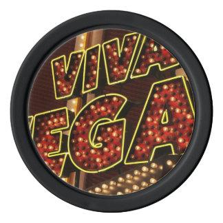 Vivaラスベガス ポーカーチップ