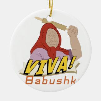 Viva Babushka セラミックオーナメント