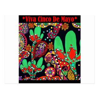 VIVA CINCO DEメーヨーの芸術 ポストカード