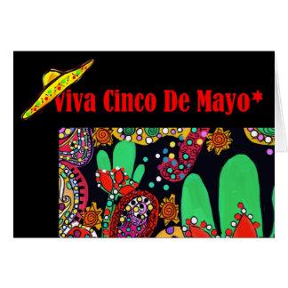 VIVA CINCO DEメーヨー カード