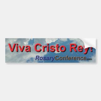 Viva Cristo Rey! バンパーステッカー