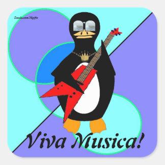 Viva Musica スクエアシール