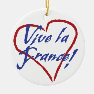 Viveのlaのフランスのクリスマスのオーナメント セラミックオーナメント