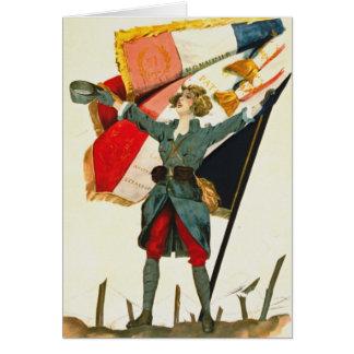 Viveのlaフランス1918年 カード