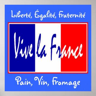 ViveのLaフランス-ビストロ、ワインバー、台所のための…! ポスター