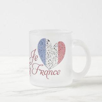 Viveのlaフランス フロストグラスマグカップ