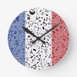 Viveのlaフランス ラウンド壁時計