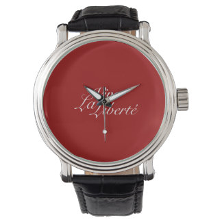 ViveのLa Liberté -生きている自由を許可して下さい-フランス語 腕時計