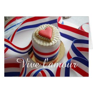 Viveのl'amourのバレンタインの挨拶状 カード