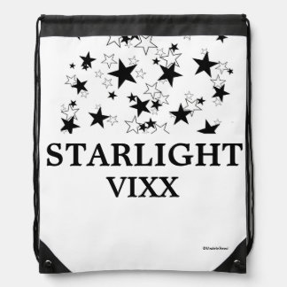 VIXX星明かりのドローストリングのバックパック ナップサック