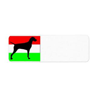 vizslaのサイロHungary-Flag.jpg ラベル