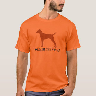 VIZSLAを自由にして下さい(オレンジ) Tシャツ