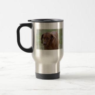 Vizsla素晴らしい犬 トラベルマグ