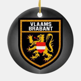 Vlaamsブラバントの旗 セラミックオーナメント