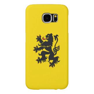 Vlaamse Leeuw/フランダースのライオンの銀河系S6の箱 Samsung Galaxy S6 ケース
