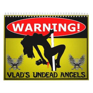 Vlad執行者の完全に死んでいない天使2014のカレンダー カレンダー