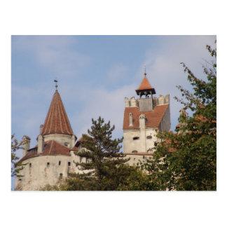 Vlad Dracul、別名ドラキュラのぬか1の城 ポストカード