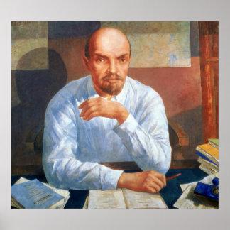 Vladimir Ilyichレーニン1934年のポートレート ポスター