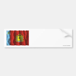Vladimir Oblastの旗 バンパーステッカー