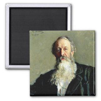 Vladimir Stasov 1883年のポートレート マグネット