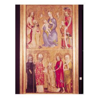 Vlasimの1月Ocko奉納のパネルの大主教 ポストカード