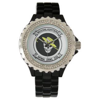 """VMFA-332 """"Moonlightersの""""腕時計 腕時計"""