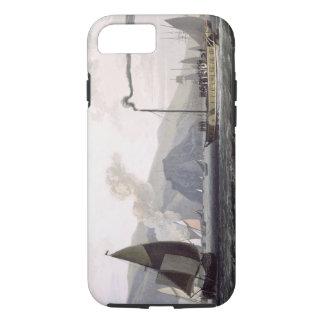 「VOからのダンバートンの近くでクライドのボートを、蒸気を発して下さい iPhone 7ケース