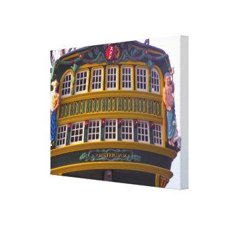 VOCアムステルダムのVOCの船、 キャンバスプリント
