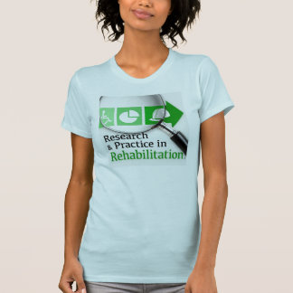 VocRehabRadioのポッドキャストのロゴのティー Tシャツ
