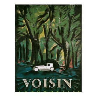 Voisinの自動車 ポストカード