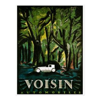 Voisonの自動車-ヴィンテージの早い1900年代 ポストカード