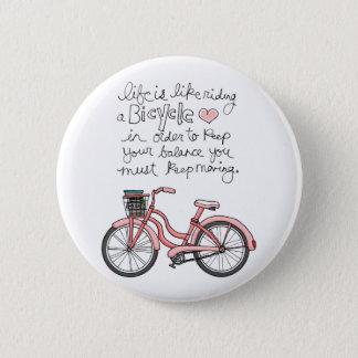 vol25生命は自転車の乗車のようです 缶バッジ