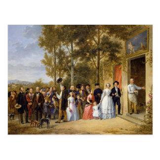 Volant Coeur Louveciennesの結婚式 ポストカード