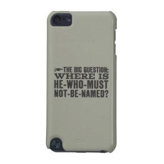 Voldermortがあるところハリー・ポッターシリーズの綴り|か。 iPod Touch 5G ケース